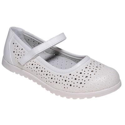 Туфли для девочки, 10 пар в коробе  7213F-6