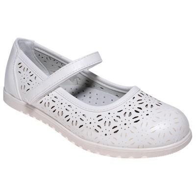 Туфли для девочки, 10 пар в коробе  7213H-6
