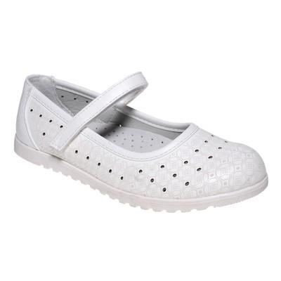 Туфли для девочки, 10 пар в коробе  7213J-6