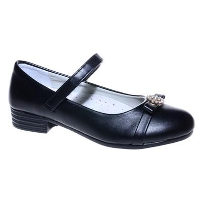 Туфли для девочки, 10 пар в коробе  7216D-1