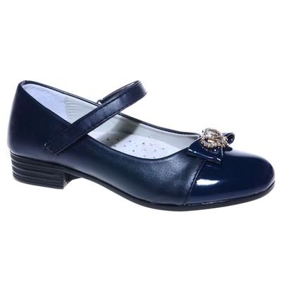 Туфли для девочки, 10 пар в коробе  7216G-2