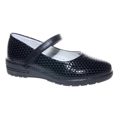 Туфли для девочки, 10 пар в коробе  7217C-1