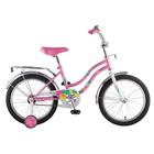"""Велосипед 18"""" Novatrack Tetris, 2018, цвет розовый"""