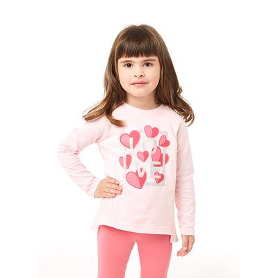 Джемпер для девочки, рост 98 см, цвет светло-розовый 206-009-00002
