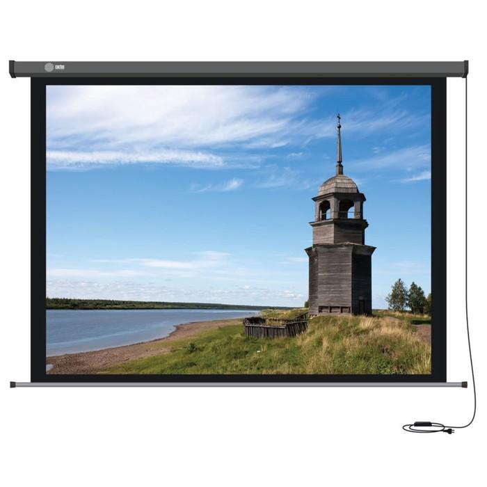 Экран Cactus 152x203 Professional Motoscreen CS-PSPM-152X203 4:3,настенно-потолочный,рулон-й   36142