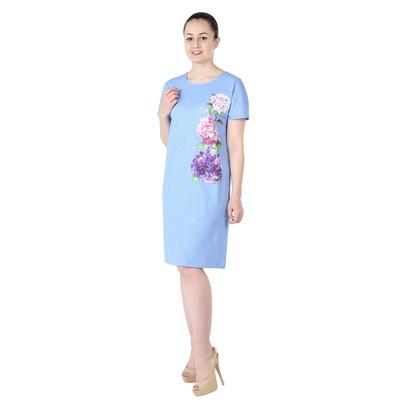 Платье женское Гортензия К цвет голубой, р-р 54