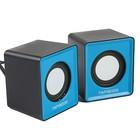 Акустическая система 2.0 Гарнизон GSP-100, 2x1ВТ, USB, Jack 3.5, синие