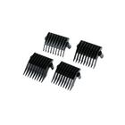 Насадки Hairway к машинкам для стрижки (к моделям 02033,02038,02039), 4 шт, 3/5/9/12 мм