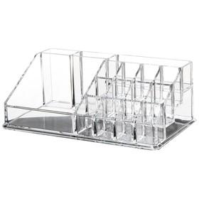 Акриловый органайзер для косметики Diamond, 16 секций
