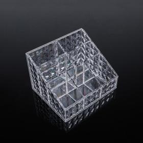 Акриловый органайзер для косметики Diamond, 5 секций