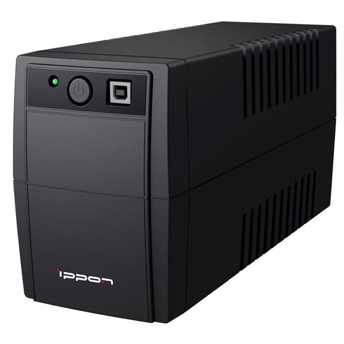 Источник бесперебойного питания Ippon Back Basic 850 Euro, 480Вт, 850ВА, черный