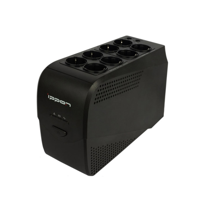 Источник бесперебойного питания Ippon Back Comfo Pro New 600, 360Вт, 600ВА, черный