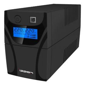 Источник бесперебойного питания Ippon Back Power Pro LCD 500, 300Вт, 500ВА, черный Ош