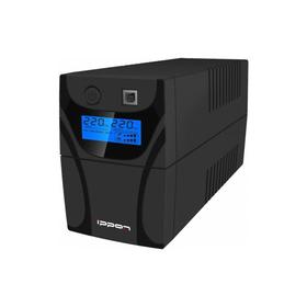 Источник бесперебойного питания Ippon Back Power Pro LCD 800, 480Вт, 800ВА, черный Ош