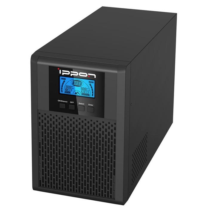 Источник бесперебойного питания Ippon Innova G2 1000, 900Вт, 1000ВА, черный