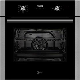 Духовой шкаф Midea MO 68145 X, электрический, 70 л, 9 режимов, черный