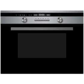 Духовой шкаф Midea AF944EZ8-SS, электрический, с СВЧ, 44 л, класс А, чёрный/серебристый