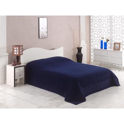 Простыня махровая Petek, размер 160х220 см, синий, 310 г/м2