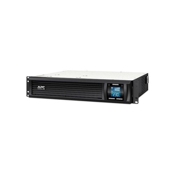 Источник бесперебойного питания APC Smart-UPS C SMC1000I-2U, 600Вт, 1000ВА, черный