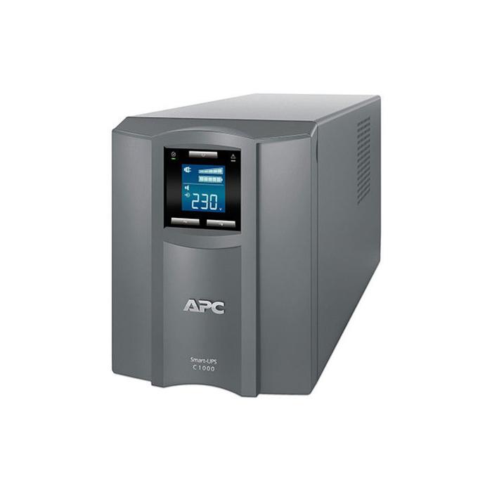 Источник бесперебойного питания APC Smart-UPS C SMC1000I-RS, 600Вт, 1000ВА, серый