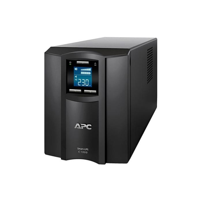 Источник бесперебойного питания APC Smart-UPS C SMC1000I, 600Вт, 1000ВА, черный