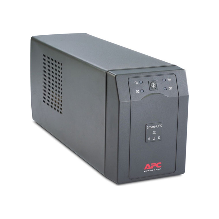 Источник бесперебойного питания APC Smart-UPS SC SC420I, 260Вт, 420ВА, черный