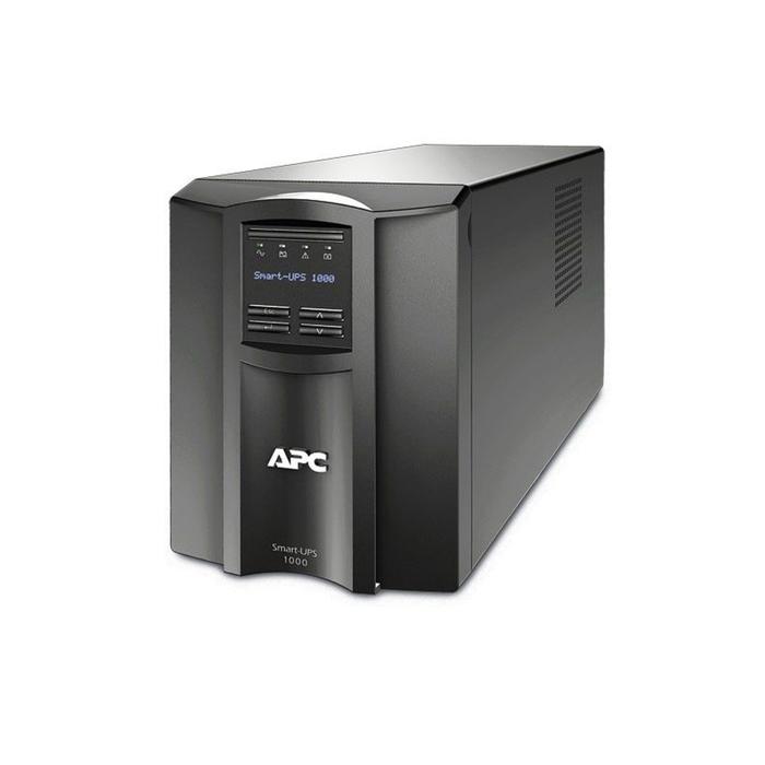 Источник бесперебойного питания APC Smart-UPS SMT1000I, 670Вт, 1000ВА, черный