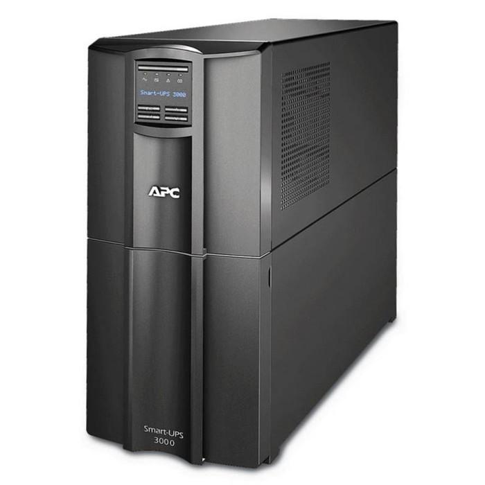 Источник бесперебойного питания APC Smart-UPS SMT3000I, 2700Вт, 3000ВА, черный