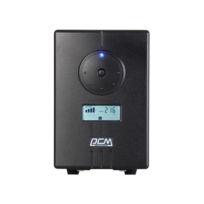 Источник бесперебойного питания Powercom Infinity INF-500, 300Вт, 500ВА, черный