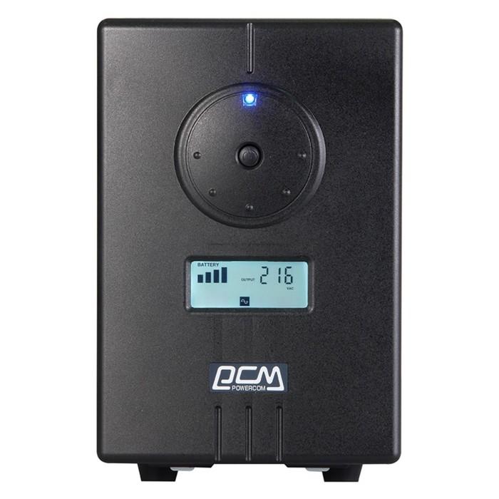 Источник бесперебойного питания Powercom Infinity INF-800, 480Вт, 800ВА, черный
