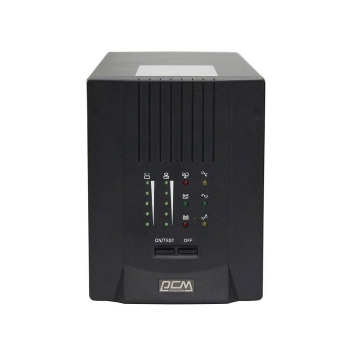 Источник бесперебойного питания Powercom Smart King Pro+ SPT-1500, 1050Вт, 1500ВА, черный
