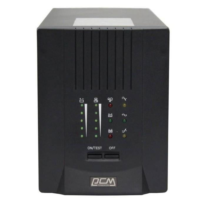 Источник бесперебойного питания Powercom Smart King Pro+ SPT-3000, 2100Вт, 3000ВА, черный