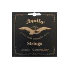 Струны для укулеле AQUILA CARBONBLACK 141U сопрано (High G-C-E-A)