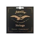 Струны для укулеле AQUILA CARBONBLACK 142U концерт (High G-C-E-A)