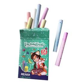 Мелки цветные 12 штук Mattel Enchantimals Ош