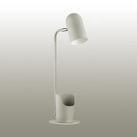 Настольная лампа EJEN 1x40Вт E27 серый 18,2x15x50см
