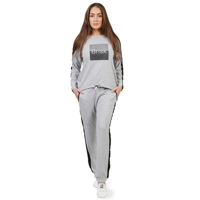 Комплект женский Brisk№1, размер 44, цвет меланж КК1204