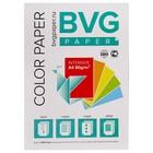 Бумага цветная А4, 100 листов, BVG интенсив, 5 цветов, 80 г/м2