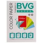 Бумага цветная А4, 100 листов, BVG неон, 5 цветов, 80 г/м2