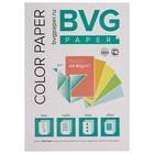 Бумага цветная А4, 100 листов, BVG пастель, 5 цветов, 80 г/м2