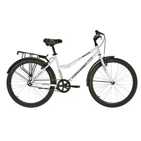 "Велосипед 26"" Forward Barcelona 1.0, 2018, цвет белый, размер 17"""