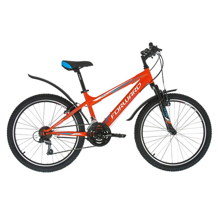 """Велосипед 24"""" Forward Titan 2.1, 2018, цвет оранжевый, размер 13"""""""