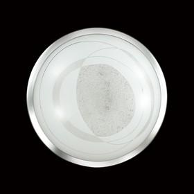 Светильник 48W LED 4000К хром, белый 40x40x8,2см