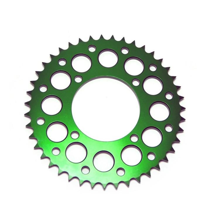 Звезда ведомая, JMC, CNC 428, зеленая, 43Т