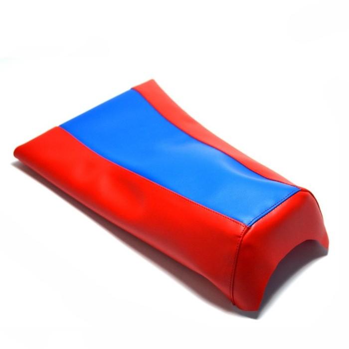 Чехол на сиденье JMC, KLX-CRF-50, красный-синий