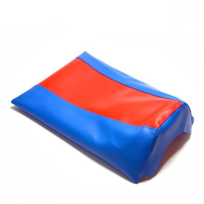 Чехол на сиденье JMC, KLX-CRF-50, синий-красный