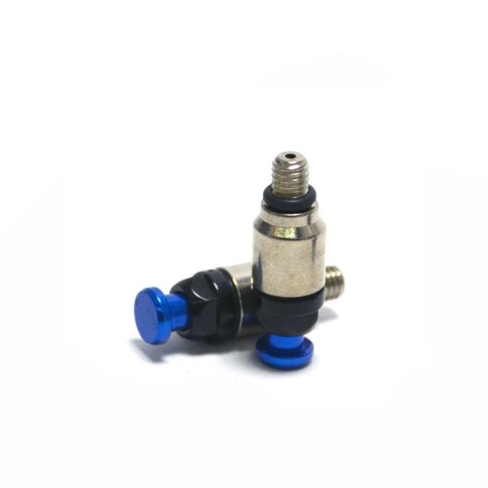 Воздушный клапан вилки, JMC, M5 x 0.75, синий, набор 2 шт