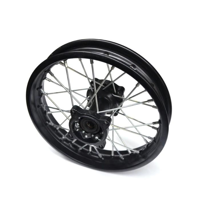 Обод колеса, JMC, кросс 1,6х10, задний, JMC 110, сталь, в сборе