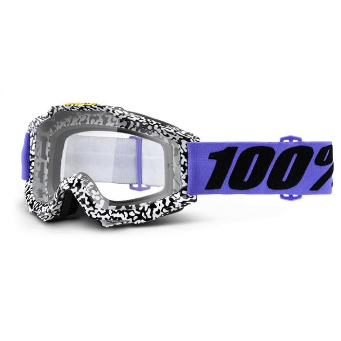 Очки кросс 100% Accuri Brentwood, прозрачная линза