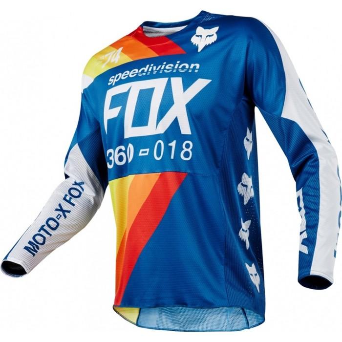 Джерси FOX 360 Draftr, синий, размер М